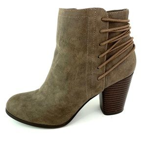 Madden Girl Taupe Ankle Booties